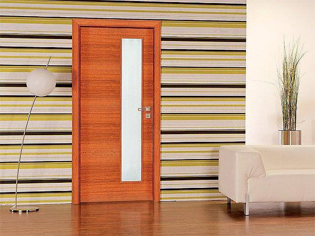 Dveře Nora, CPL teak (Sapeli)