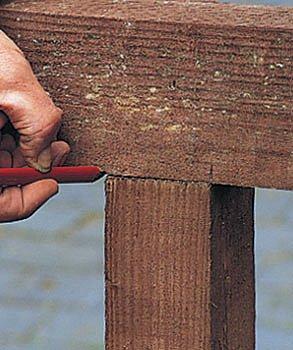 Stavba dřevěné pergoly