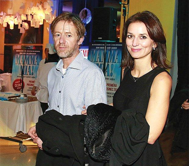 S hercem Jiřím Langmajerem