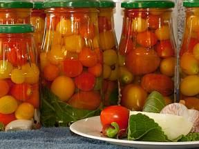 Nakládaná rajčata