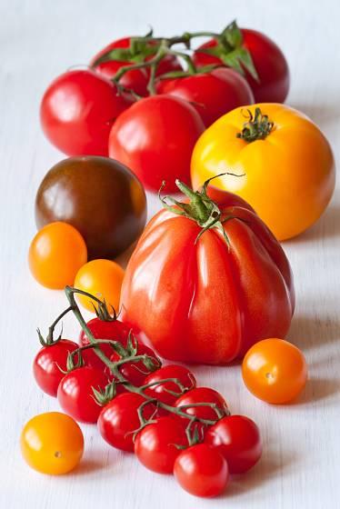 Do kečupu můžete přidat různé druhy rajčat.