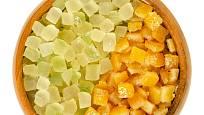 Kandovaná kůra cedrátů a pomerančů.
