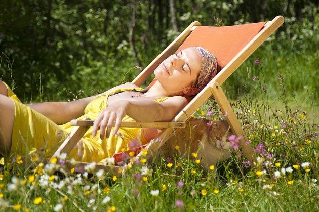 Užijte si odpočinek na zahradě