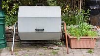 otočný kompostér