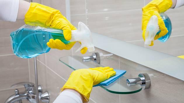 Na úklidu koupelny si dejte opravdu záležet.