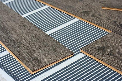 elektrické vytápěcí rohože pod plavoucí podlahou