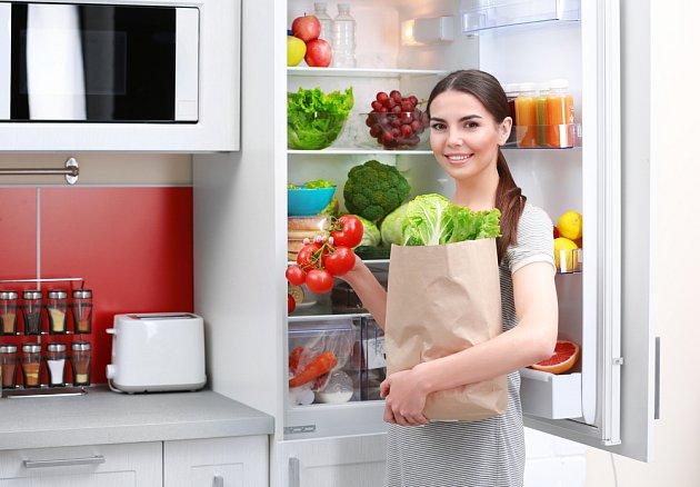 Spotřebu zásadně ovlivníte tím, co do lednice vkládáte