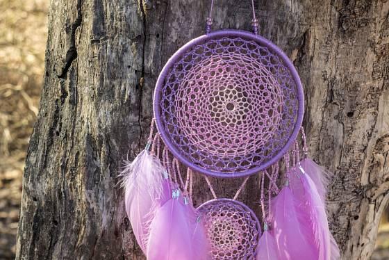 Fialová barva značí magická zákoutí.