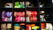 Skladování washi pásek doporučujeme mimo dosahu slunečních  paprsků.