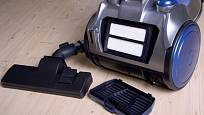 Čisté filtry zlepší výkon vysavače