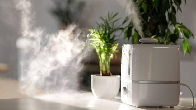Výkonné zvlhčovače si poradí i s velmi suchým vzduchem