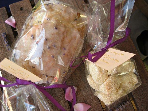 Levandulový chlebíček