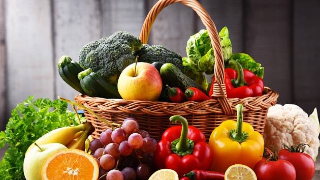 Ovoce a zelenina jsou zdravou a nezbytnou součástí našeho jídelníčku