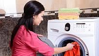 velikost pračky ovlivňuje množství prádla, které lez najednou vyprat