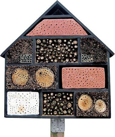 stavba budky pro hmyz