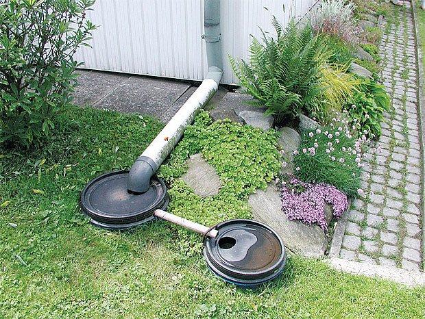 Filtrace dešťové vody.