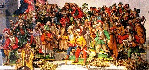 velikonoční betlém Václava Jansy z druhé poloviny 19. století