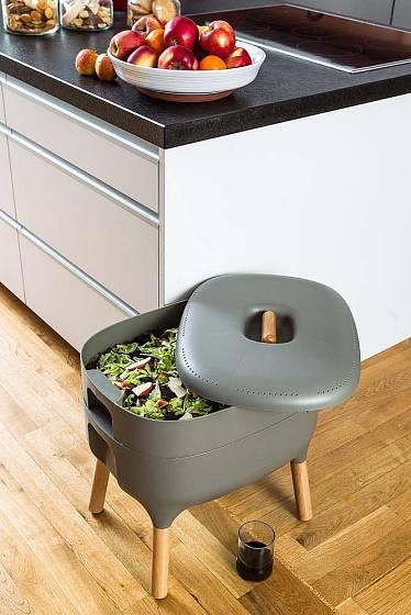 Vermikompostér Urbalive můžete umístit přímo v kuchyni.