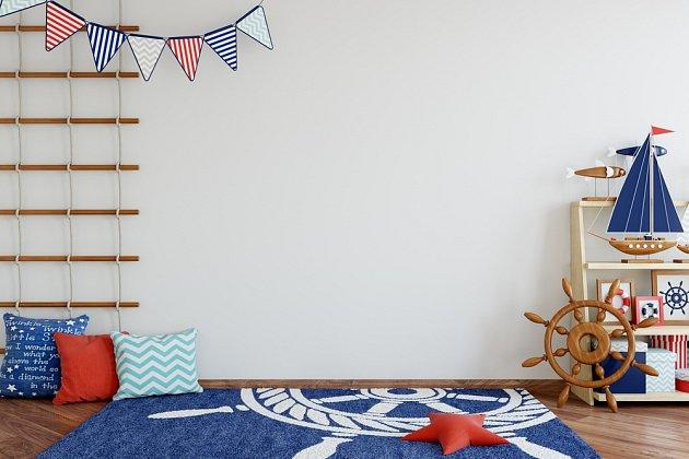 Vyměňte pár doplňků a dětský pokoj získá námořnický styl