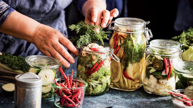 Přeborníky ve fermentování potravin jsou Asiaté.