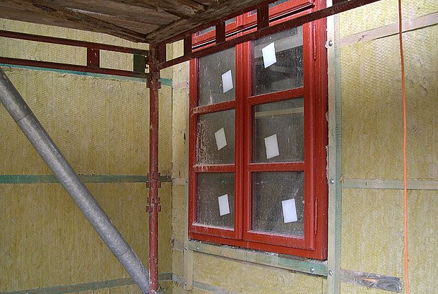minerální vata kolem oken