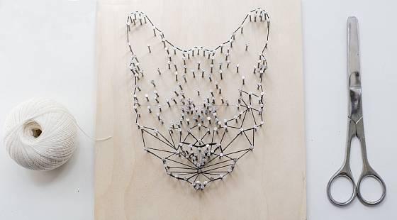 Díky string artu se rozvíjí také jemná motorika.