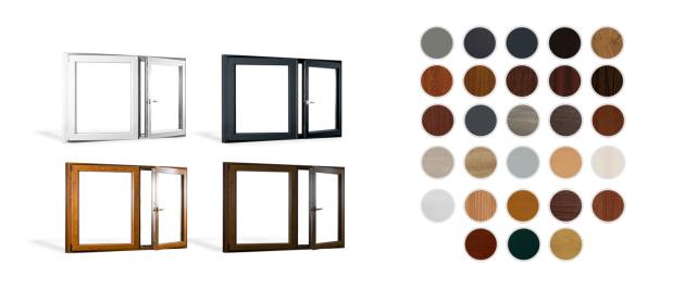 Potřebujete okna v jiných rozměrech, než jsou u těch ve skladu? Na webu skladova-okna.cz využijte online konfigurátor. Plastová okna PREMIUM a REHAU SYNEGO AD jsou v nabídce v 28 barvách plus základní bílé barvě