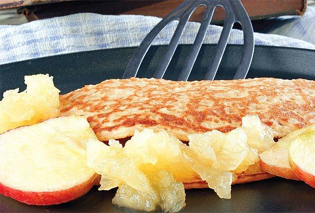 Jablkové palačinky po francouzsku