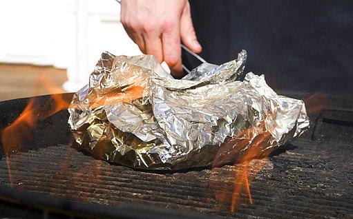 pečení holubinek v alobalu