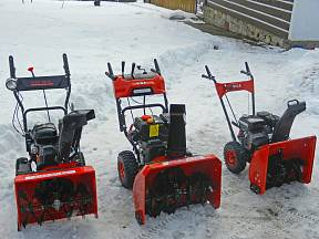 Sněhovou frézu volíme podle velikosti plochy a členitosti terénu
