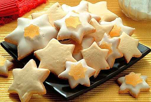 Medové perníkové hvězdičky