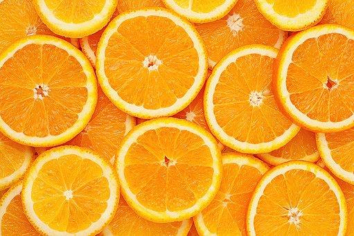 plátky pomerančů