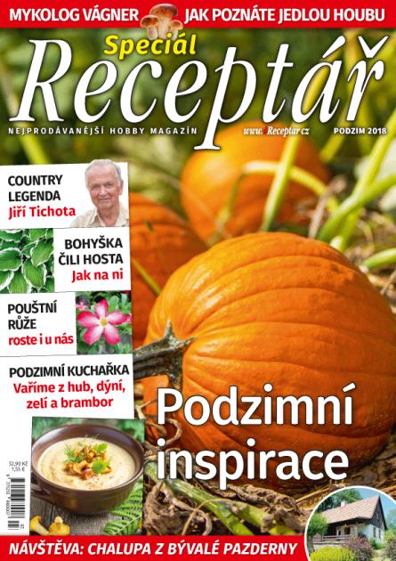 Receptář speciál, podzim 2018