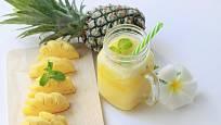 Takto pokrájený ananas poslouží i jako dekorace