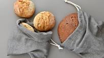 Dobře uložený chléb není tvrdý ani plesnivý