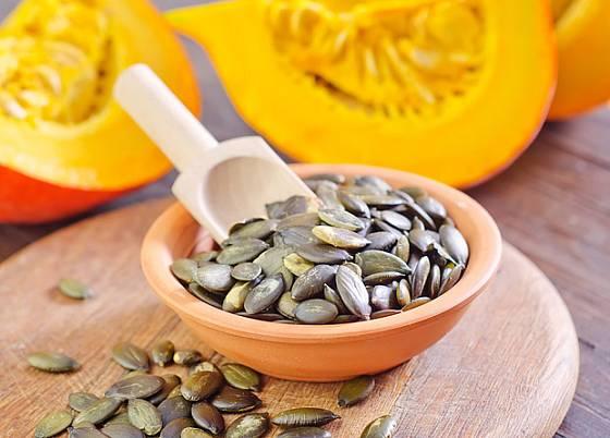 dýňová semínka, výtečná a zdravá