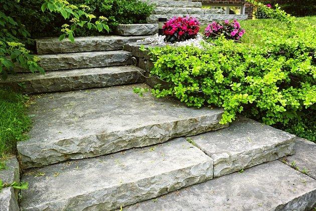Kamenné schody jsou nadčasové