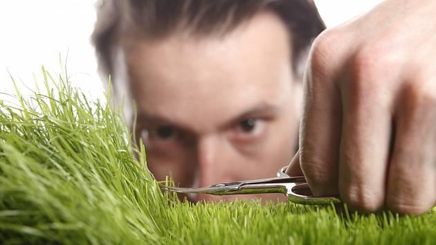 Základem pro dobrý trávník je, aby se ke kořenům dostal vzduch, protože trávu živí přeci jen kořeny