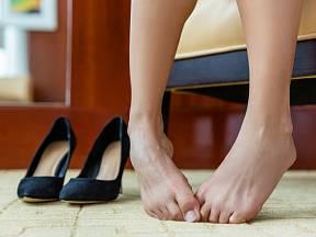 Zápach z nohou je nepříjemný