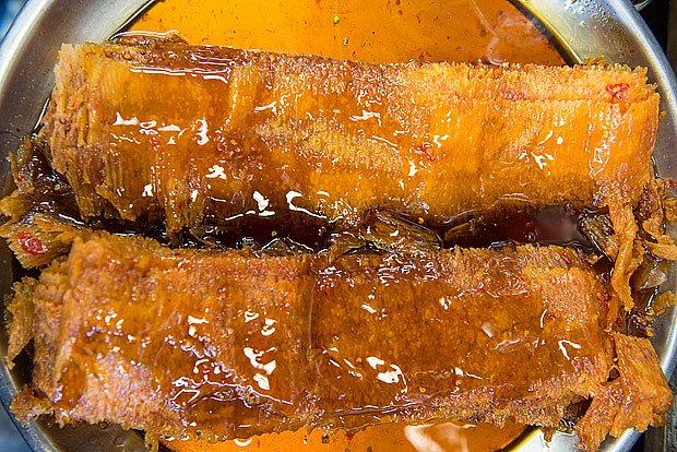 rybí recept s medem