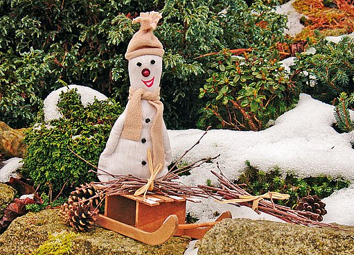 trvanlivý sněhulák