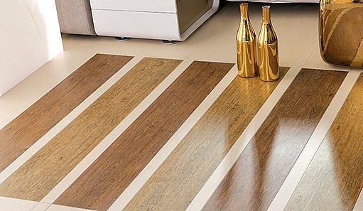 Téměř dokonalou imitaci dřeva už dokáží udělat i výrobci dlažby. Foto Rako