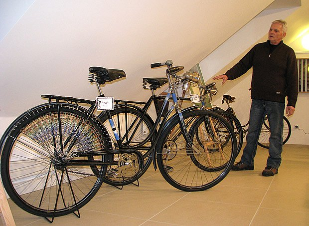 Historické bicykly
