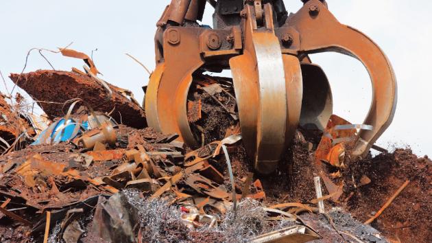 Objem svezeného kovového odpadu se jen v hlavním městě za poslední čtyři roky zečtyřnásobil