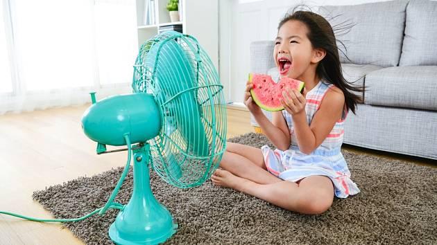 Větrák je  při výrobě domácí klimatizace hlavním komponentem, který bude ochlazovat celou místnost.