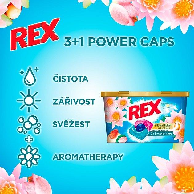 Díky vylepšené technologii parfémů přináší celý Rex sortiment příjemnou a uklidňující vůni, která vydrží týdny.