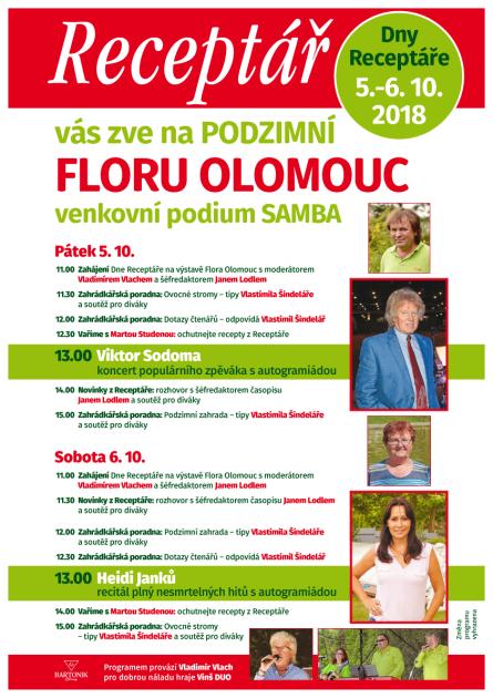 Flora Olomouc - podzimní etapa 2018