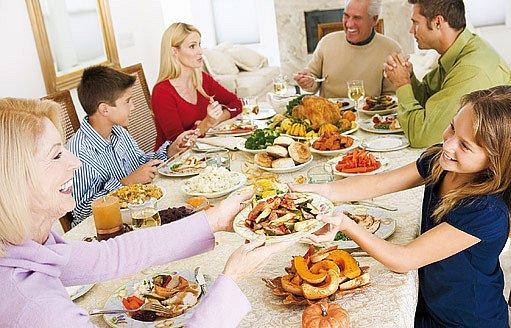 na hostinách bychom se neměli přejídat
