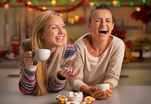 Káva s kamarádkou dokáže vyléčit mnohé neduhy. Bez ohledu na kvalitu :)