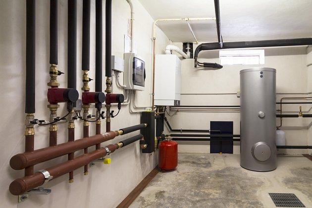 Plynový kondenzační kotel můžeme využít tam, kde je zprovozněná plynová přípojka.
